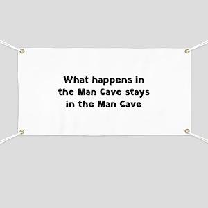 Man Cave Banner