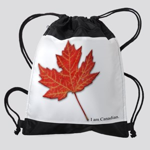 Iamcanadian Drawstring Bag