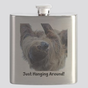 Just Hanging Around! Sloth Flask