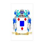 Berthaux Sticker (Rectangle 10 pk)