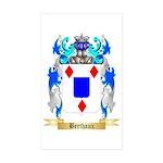 Berthaux Sticker (Rectangle 50 pk)