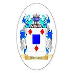 Berthaux Sticker (Oval 50 pk)