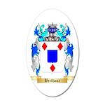Berthaux 35x21 Oval Wall Decal