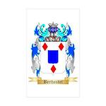 Berthaudet Sticker (Rectangle 10 pk)