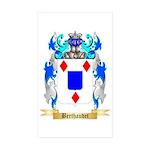 Berthaudet Sticker (Rectangle 50 pk)