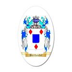 Berthaudet 35x21 Oval Wall Decal