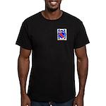 Bertet Men's Fitted T-Shirt (dark)