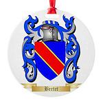 Bertet Round Ornament