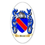 Bertet Sticker (Oval 50 pk)