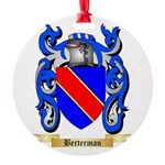 Berterman Round Ornament