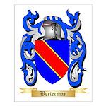 Berterman Small Poster