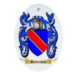 Berterman Ornament (Oval)