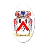 Bertelot 35x21 Oval Wall Decal