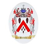 Bertelli Ornament (Oval)