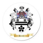 Bertel Round Car Magnet