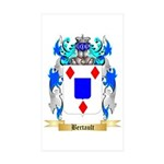 Bertault Sticker (Rectangle 50 pk)