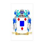 Bertaudet Sticker (Rectangle 50 pk)