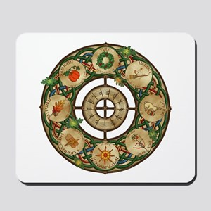 Celtic Wheel of the Year Mousepad