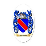 Bertandot Oval Car Magnet