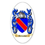Bertandot Sticker (Oval 50 pk)