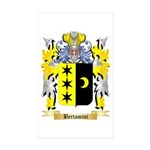Bertamini Sticker (Rectangle 50 pk)