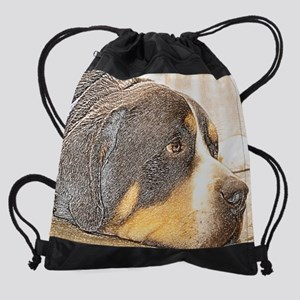 SwissieHDMouse.png Drawstring Bag