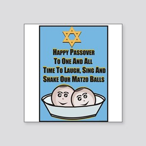 Happy Passover Matzo Sticker