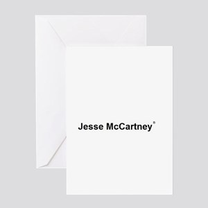 Jesse McCartney Greeting Card