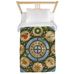 Celtic Wheel of the Year Twin Duvet Cover