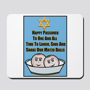 Happy Passover Matzo Mousepad