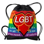LGBT Marriage Drawstring Bag