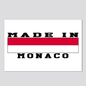 Monaco Made In Postcards (Package of 8)