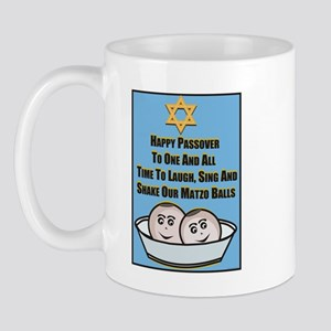 Happy Passover Matzo Mug