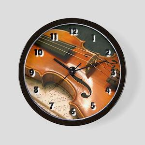 Violin Concerto Wall Clock