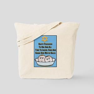 Happy Passover Matzo Tote Bag