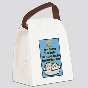 Happy Passover Matzo Canvas Lunch Bag