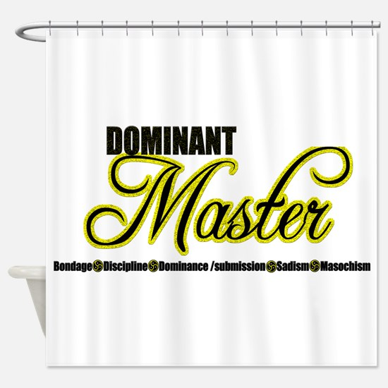 Dominant Master Shower Curtain