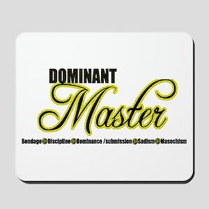 Dominant Master Mousepad