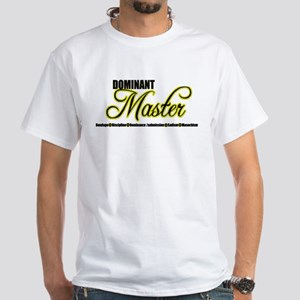 Dominant Master White T-Shirt