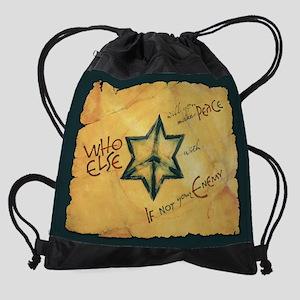 whoelse-large Drawstring Bag