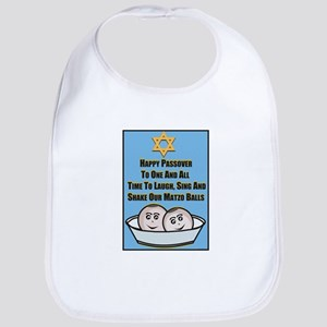 Happy Passover Matzo Bib