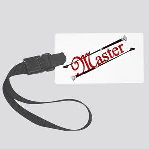 MASTER - Riding Crops Large Luggage Tag
