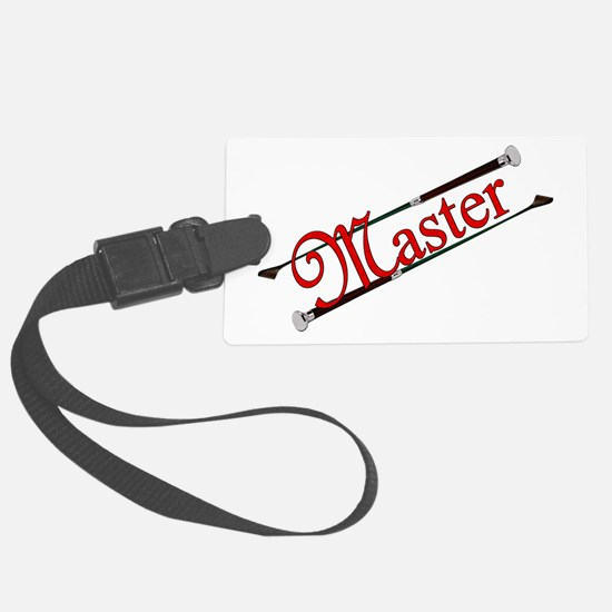 MASTER - Riding Crops Luggage Tag