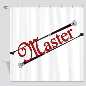 MASTER - Riding Crops Shower Curtain