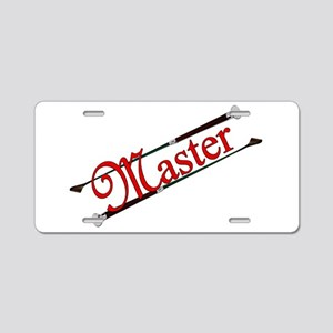MASTER - Riding Crops Aluminum License Plate
