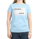 Document it.. move on Women's Pink T-Shirt