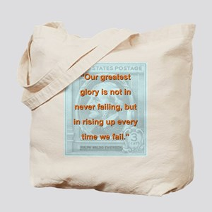 Our Greatest Glory - RW Emerson Tote Bag