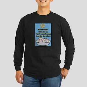 Happy Passover Matzo Long Sleeve T-Shirt