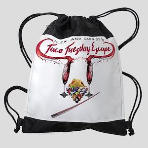 Alex & Cassidy's Taco Tuesday Escap Drawstring Bag