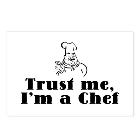 Trust Me I'm a Chef Postcards (Package of 8)